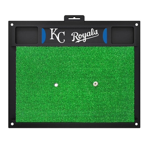 Kansas City Royals MLB Golf Hitting Mat (20in L x 17in W)