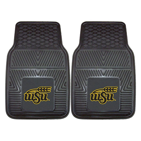Wichita State Shockers NCAA Heavy Duty 2-Piece Vinyl Car Mats (18x27)