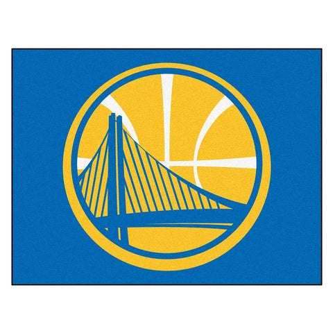 Golden State Warriors NBA All-Star Floor Mat (34in x 45in)