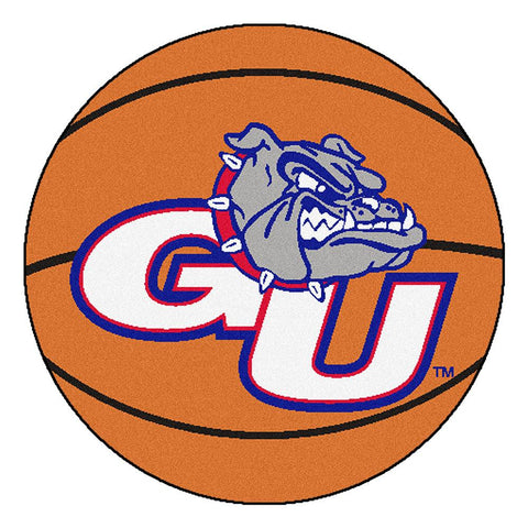 Gonzaga Bulldogs NCAA Basketball Round Floor Mat (29)