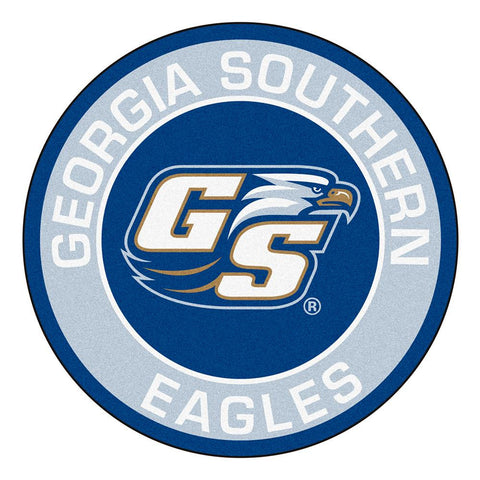 Georgia Southern Eagles NCAA Round Floor Mat (29)