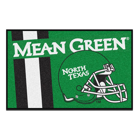 North Texas Mean Green NCAA Starter Floor Mat (20x30)