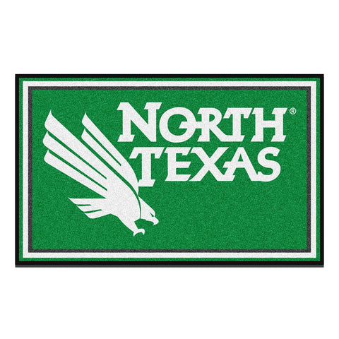 North Texas Mean Green NCAA 4x6 Rug (46x72)