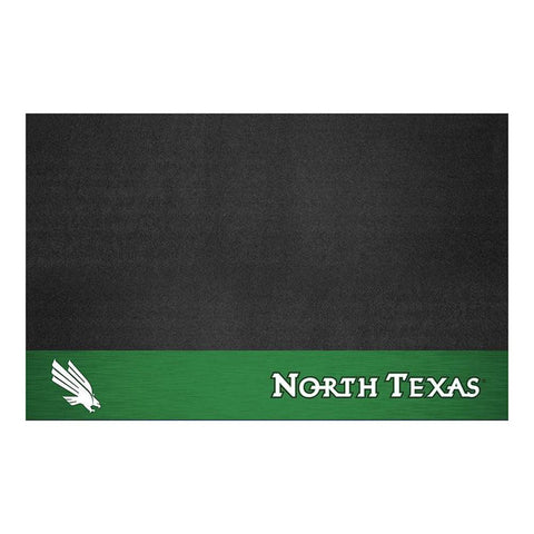 North Texas Mean Green NCAA Vinyl Grill Mat
