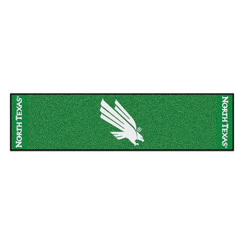 North Texas Mean Green NCAA Putting Green Runner (18x72)