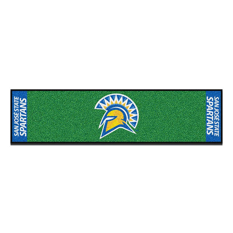San Jose State Spartans NCAA Putting Green Runner (18x72)