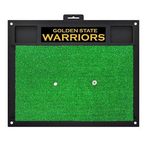 Golden State Warriors NBA Golf Hitting Mat (20in L x 17in W)
