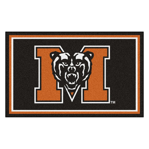 Mercer Bears NCAA 4x6 Rug (46x72)