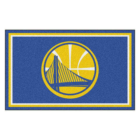 Golden State Warriors NBA 4x6 Rug (46x72)