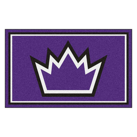 Sacramento Kings NBA 4x6 Rug (46x72)