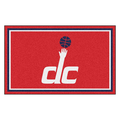 Washington Wizards NBA 4x6 Rug (46x72)