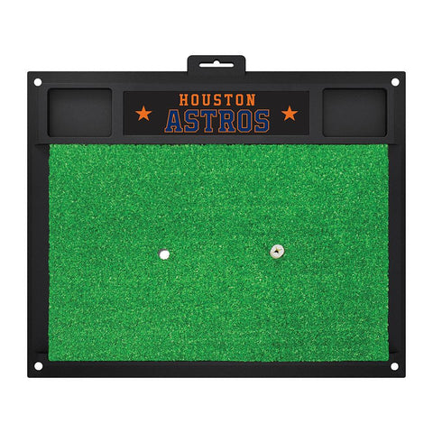 Houston Astros MLB Golf Hitting Mat (20in L x 17in W)