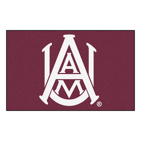 Alabama A&M Bulldogs NCAA Ulti-Mat Floor Mat (5x8')