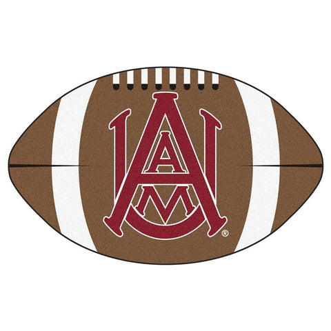 Alabama A&M Bulldogs NCAA Football Floor Mat (22x35)