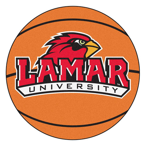 Lamar Cardinals NCAA Basketball Round Floor Mat (29)
