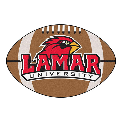 Lamar Cardinals NCAA Football Floor Mat (22x35)