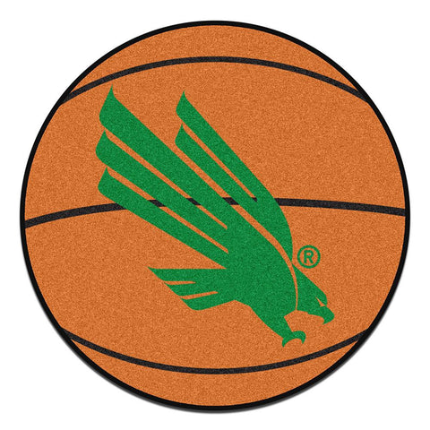 North Texas Mean Green NCAA Basketball Round Floor Mat (29)