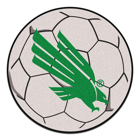 North Texas Mean Green NCAA Soccer Ball Round Floor Mat (29)