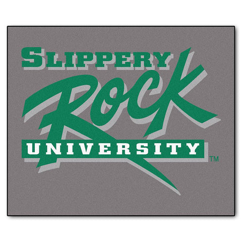 Slippery Rock NCAA Tailgater Floor Mat (5'x6')