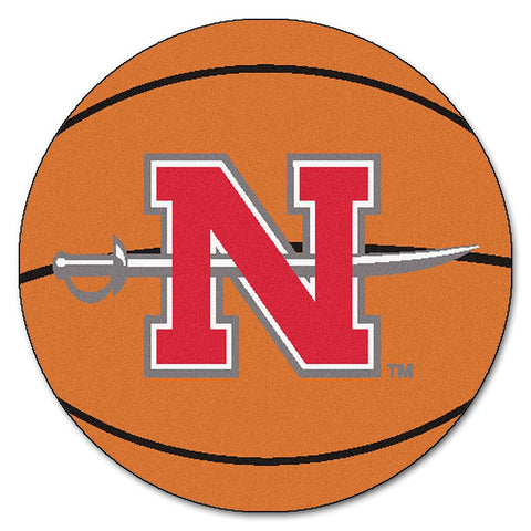 Nicholls State Colonels NCAA Basketball Round Floor Mat (29)