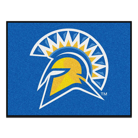 San Jose State Spartans NCAA All-Star Floor Mat (34in x 45in)