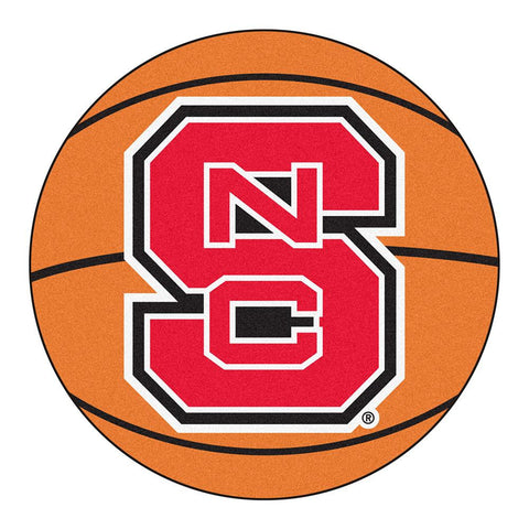 North Carolina State Wolfpack NCAA Basketball Round Floor Mat (29)