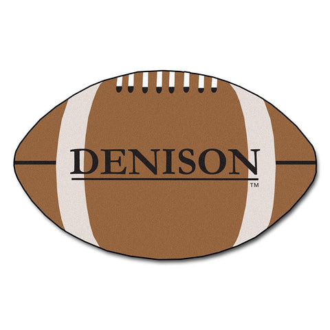 Denison Big Reds NCAA Football Floor Mat (22x35)
