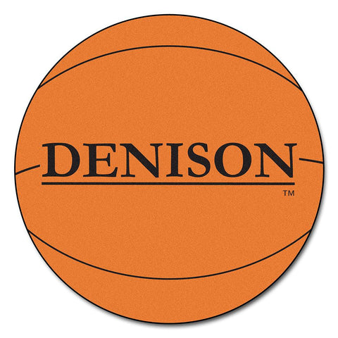 Denison Big Reds NCAA Basketball Round Floor Mat (29)