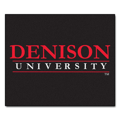 Denison Big Reds NCAA Tailgater Floor Mat (5'x6')