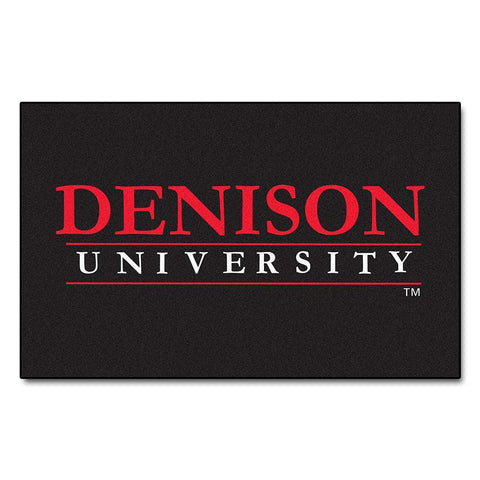 Denison Big Reds NCAA Ulti-Mat Floor Mat (5x8')