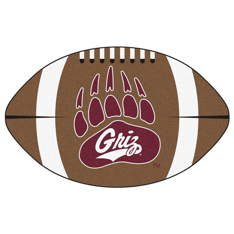 Montana Grizzlies NCAA Football Floor Mat (22x35)