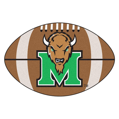 Marshall Thundering Herd NCAA Football Floor Mat (22x35)