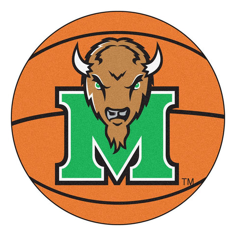 Marshall Thundering Herd NCAA Basketball Round Floor Mat (29)