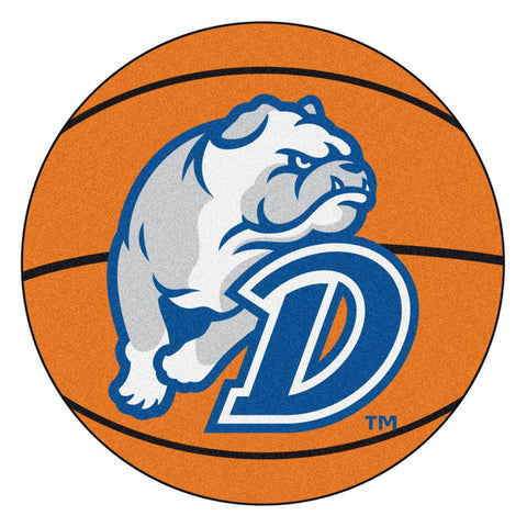 Drake Bulldogs NCAA Basketball Round Floor Mat (29)