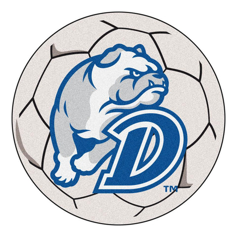 Drake Bulldogs NCAA Soccer Ball Round Floor Mat (29)