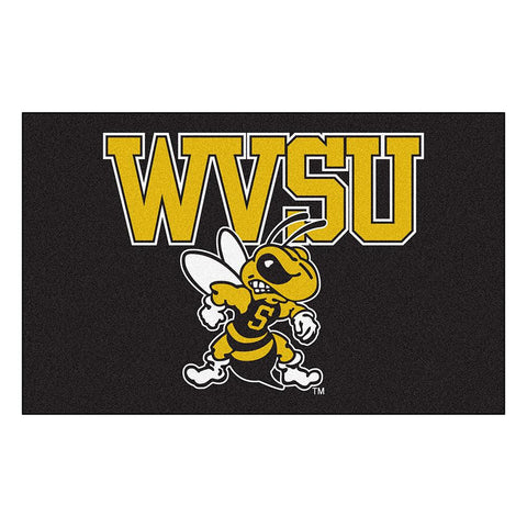 West Virginia State Yellow Jackets NCAA Ulti-Mat Floor Mat (5x8')