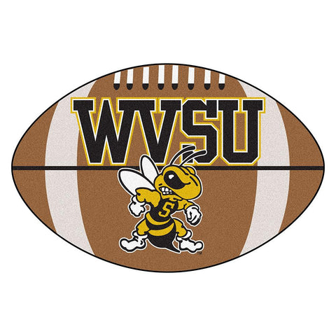 West Virginia State Yellow Jackets NCAA Football Floor Mat (22x35)