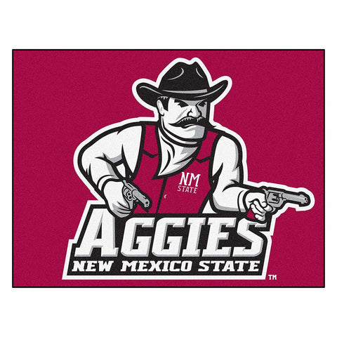 New Mexico State Aggies NCAA All-Star Floor Mat (34x45)