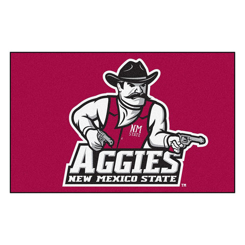 New Mexico State Aggies NCAA Ulti-Mat Floor Mat (5x8')