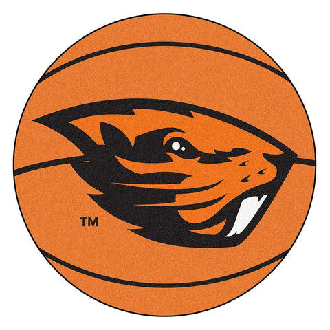 Oregon State Beavers NCAA Basketball Round Floor Mat (29)