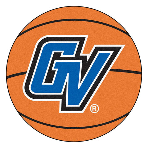 Grand Valley State Lakers NCAA Basketball Round Floor Mat (29)