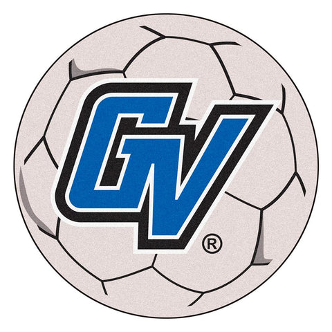 Grand Valley State Lakers NCAA Soccer Ball Round Floor Mat (29)