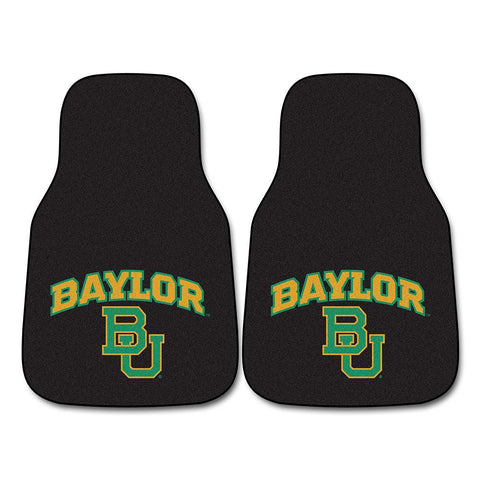 Baylor Bears NCAA Car Floor Mats (2 Front)