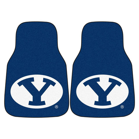 Brigham Young Cougars NCAA Car Floor Mats (2 Front)
