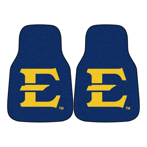 East Tennessee State Buccaneers NCAA Car Floor Mats (2 Front)