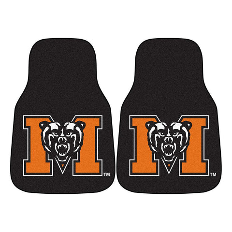 Mercer Bears NCAA Car Floor Mats (2 Front)