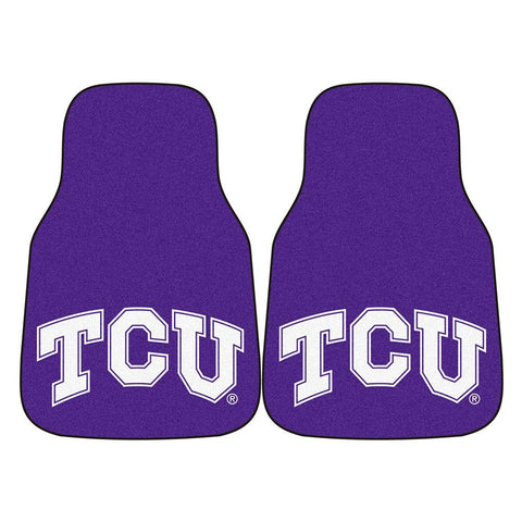 Texas Christian Horned Frogs NCAA Car Floor Mats (2 Front)