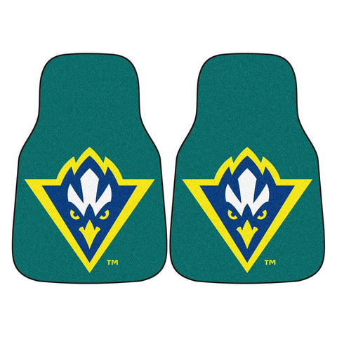 North Carolina Wilmington Seahawks NCAA Car Floor Mats (2 Front)