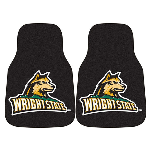 Wright State Raiders NCAA Car Floor Mats (2 Front)