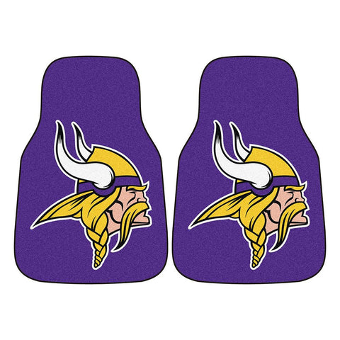 Minnesota Vikings NFL Car Floor Mats (2 Front)